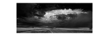Great Plains Storm BW Photographic Print by Steve Gadomski