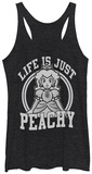 Juniors Tank Top: Super Mario- Just Peachy Womens Tank Tops