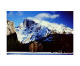 Half Dome from Ahwahnee Meadow Photographic Print by Ronald A Dahlquist