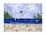 Kite Flying At The Beach Photographic Print by sylvia pimental