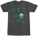 Super Mario- Gets Life Shirts