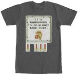Legend Of Zelda- Danger Zone T-skjorter