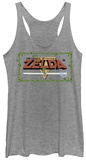 Juniors Tank Top: Legend Of Zelda- Pixel Classic Womens Tank Tops