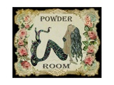 Powder Room Mermaid Photographic Print by sylvia pimental