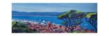 St Tropez Summer Sun Seaview in France Affiches par Markus Bleichner