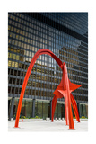 Federal Plaza Chicago IL Photographic Print by Steve Gadomski