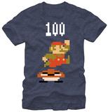 Super Mario- Jump For 100 T-Shirts