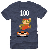 Super Mario- Jump For 100 T-shirts