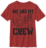 Youth: Super Mario- The Crew T-Shirts