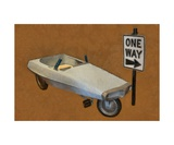 Probe Pedal Car Photographic Print by Michelle Calkins