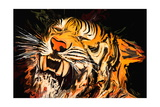 The Tiger Photographic Print by Rabi Khan