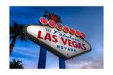 Welcome To Las Vegas Photographic Print by Steve Gadomski