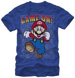 Super Mario- Game On T-shirts