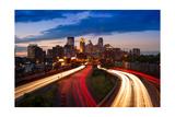 Minneapolis MN Skyline Photographic Print by Steve Gadomski