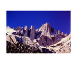 Mount Whitney in Winter Photographic Print by Ronald A Dahlquist