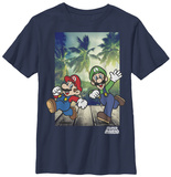 Youth: Super Mario- Tropic Run T-shirts