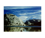 Tenaya Lake and Polly Dome Photographic Print by Ronald A Dahlquist