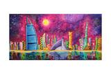 The Luxe Life Dubai Cityscape Photographic Print by Megan Aroon Duncanson