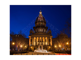 Illinois State Capitol Photographic Print by Steve Gadomski