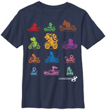 Youth: Mariokart- Know Your Racer T-shirt