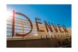 Denver CO sign Photographic Print by Steve Gadomski