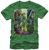 Legend Of Zelda- Ocarina Troupe Shirts