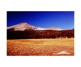 Sky Parlor Meadow and Mount Kaweah Photographic Print by Ronald A Dahlquist