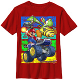 Youth: Mariokart- Race On T-Shirt