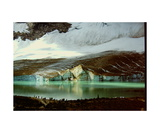 Cavell Lake, Jasper NP, Canadian Rockies Photographic Print by Ronald A Dahlquist