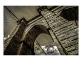 Brooklyn Bridge Tower Prints