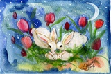 Bunny Family Photographic Print by sylvia pimental