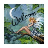 Welcome Fairy Photographic Print by sylvia pimental