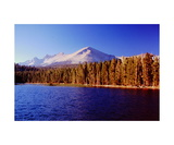 Moraine Lake and Kaweah Peaks Photographic Print by Ronald A Dahlquist