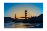 Golden Gate Sunrise Photographic Print by Steve Gadomski