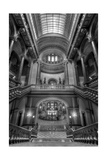 Grand Staircase Illinois State Capitol BW Photographic Print by Steve Gadomski