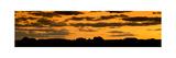Desert Sky Panorama Photographic Print by Steve Gadomski