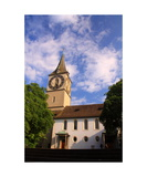 St Peters Kirche, Zurich Photographic Print by Ronald A Dahlquist