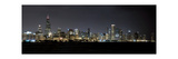 Chicago Blackhawks Skyline Lakefront Photographic Print by Patrick Warneka