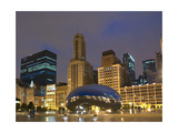 Chicago At Night Photographic Print by Patrick Warneka