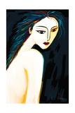Posing Nude 1 Giclee Print by Rabi Khan