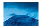 The Summit Mt Rainier Photographic Print by Steve Gadomski