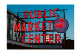 Pike Place Public Market Seattle Photographic Print by Steve Gadomski