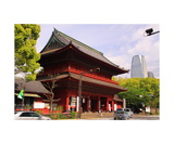 San-Mon Gate at Zojo-ji Temple in Tokyo Photographic Print by Ronald A Dahlquist
