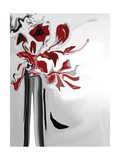 Red Orchid 2 Photographic Print by Rabi Khan