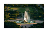 Buckingham Fountain Chicago Photographic Print by Steve Gadomski