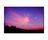 Sunset Cloud Over the Mendocino Coast Photographic Print by Ronald A Dahlquist