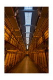 Alcatraz Main Cell Block Photographic Print by Steve Gadomski