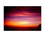 Sunset over the Pacific from Heritage House Photographic Print by Ronald A Dahlquist