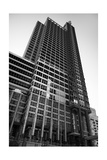 Boeing World HQ Chicago BW Photographic Print by Steve Gadomski