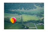 Napa Valley Aloft Photographic Print by Steve Gadomski